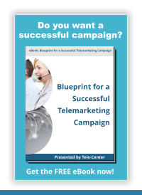 eBook: Blueprint for a Successful Telemarketing Campaign Blueprint for a Successful Telemarketing Campaign Presented by Tele-Center Get the FREE eBook now! Do you want a successful campaign?